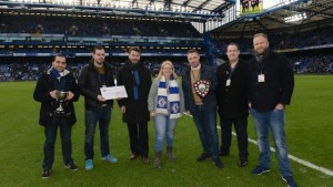 Last year's presentation saw one of the tournament helpers, Michelle Brand and Tony Davis, handing over the cheques and trophies